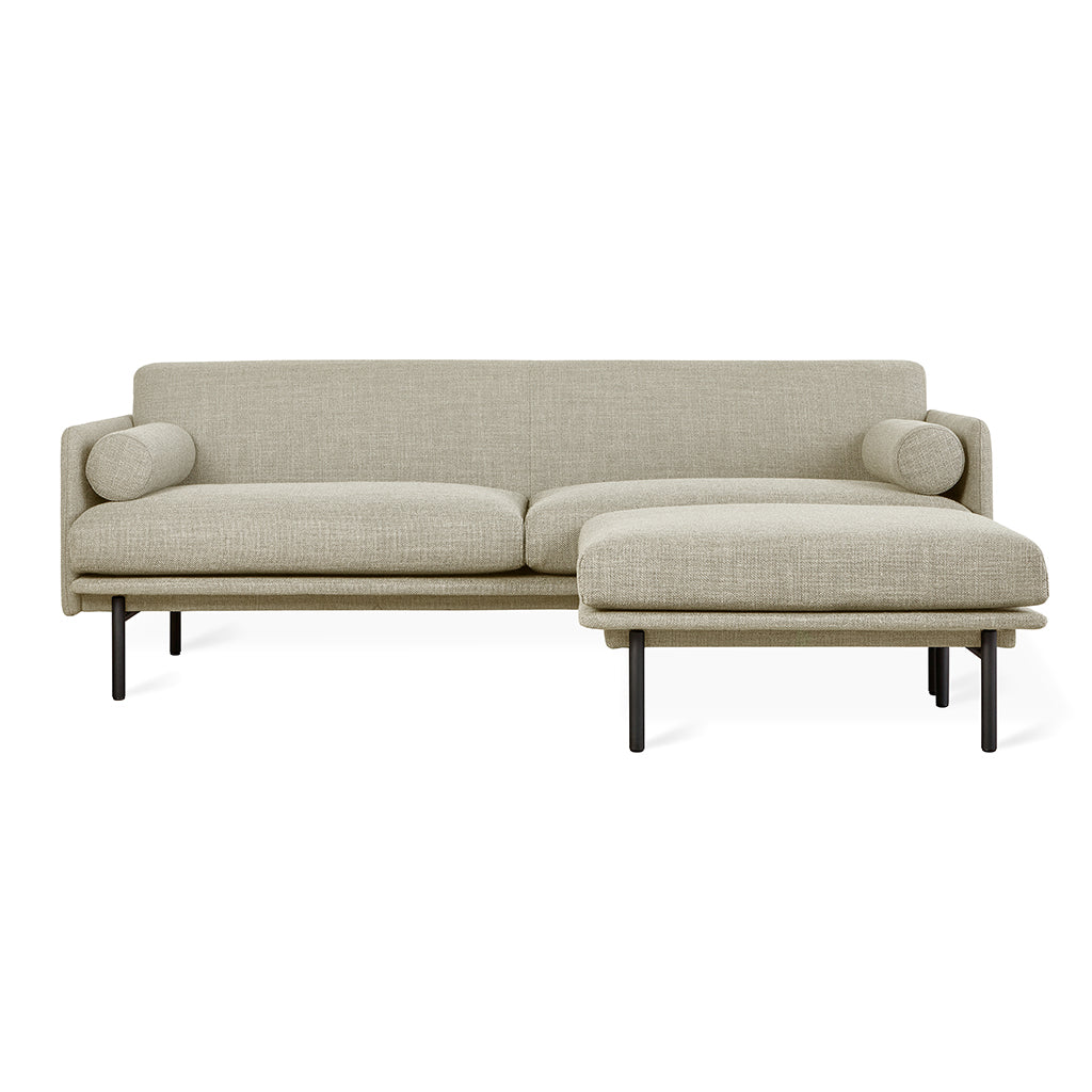 Foundry Bi-Sectional | Andorra Almond