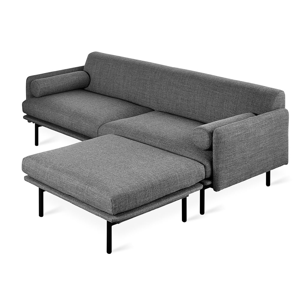 Foundry Bi-Sectional | Andorra Pewter