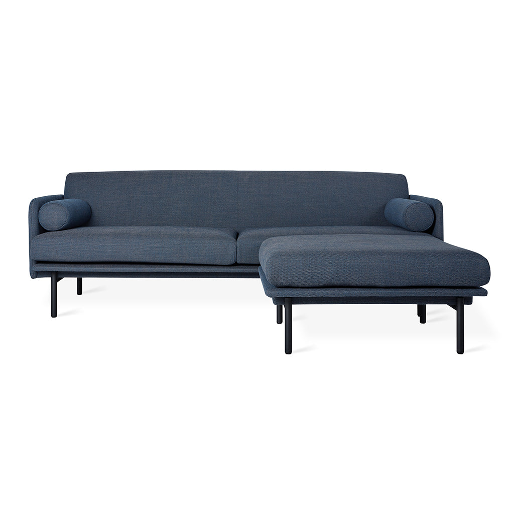Foundry Bi-Sectional | Hanson Navy