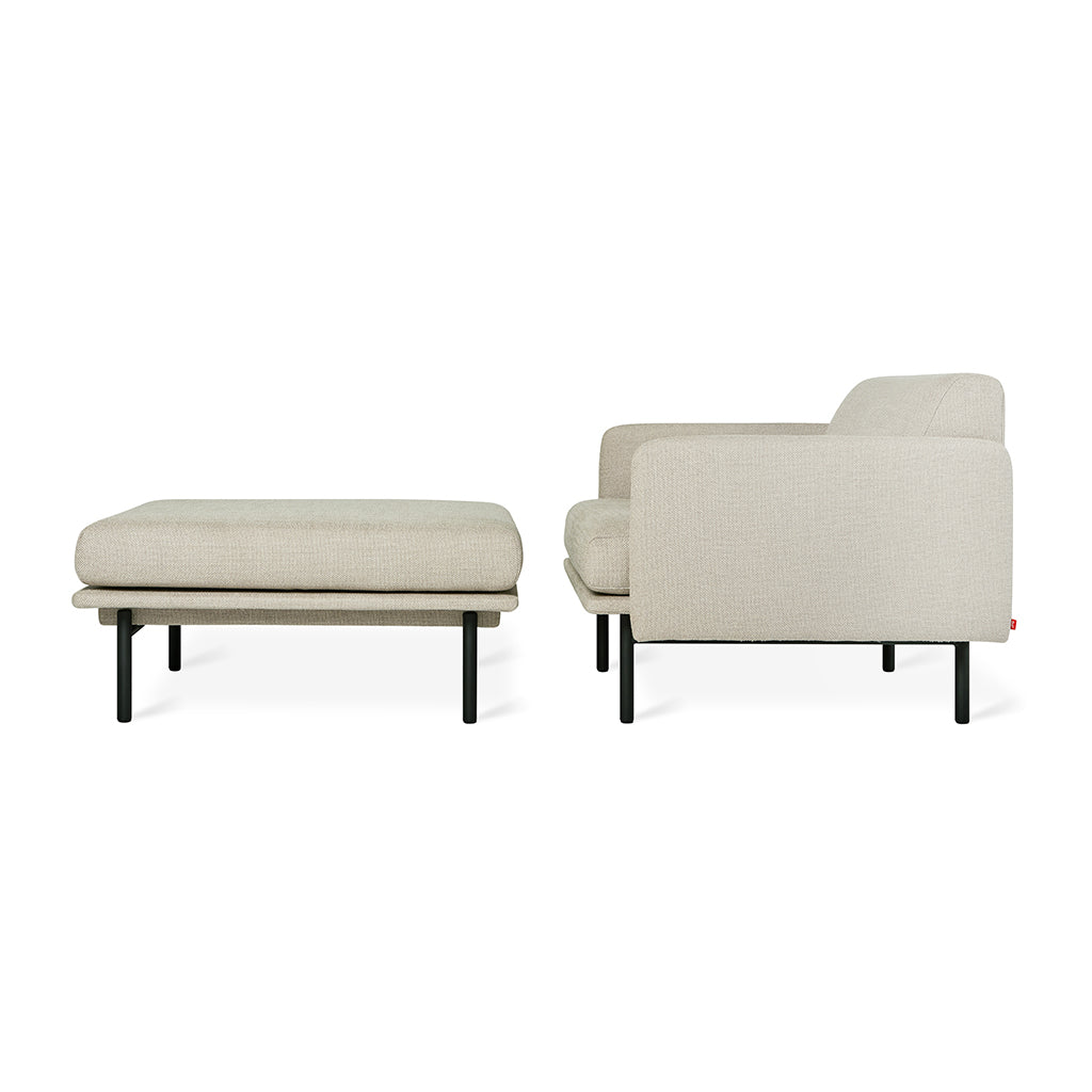 Foundry Chaise | Andorra Almond