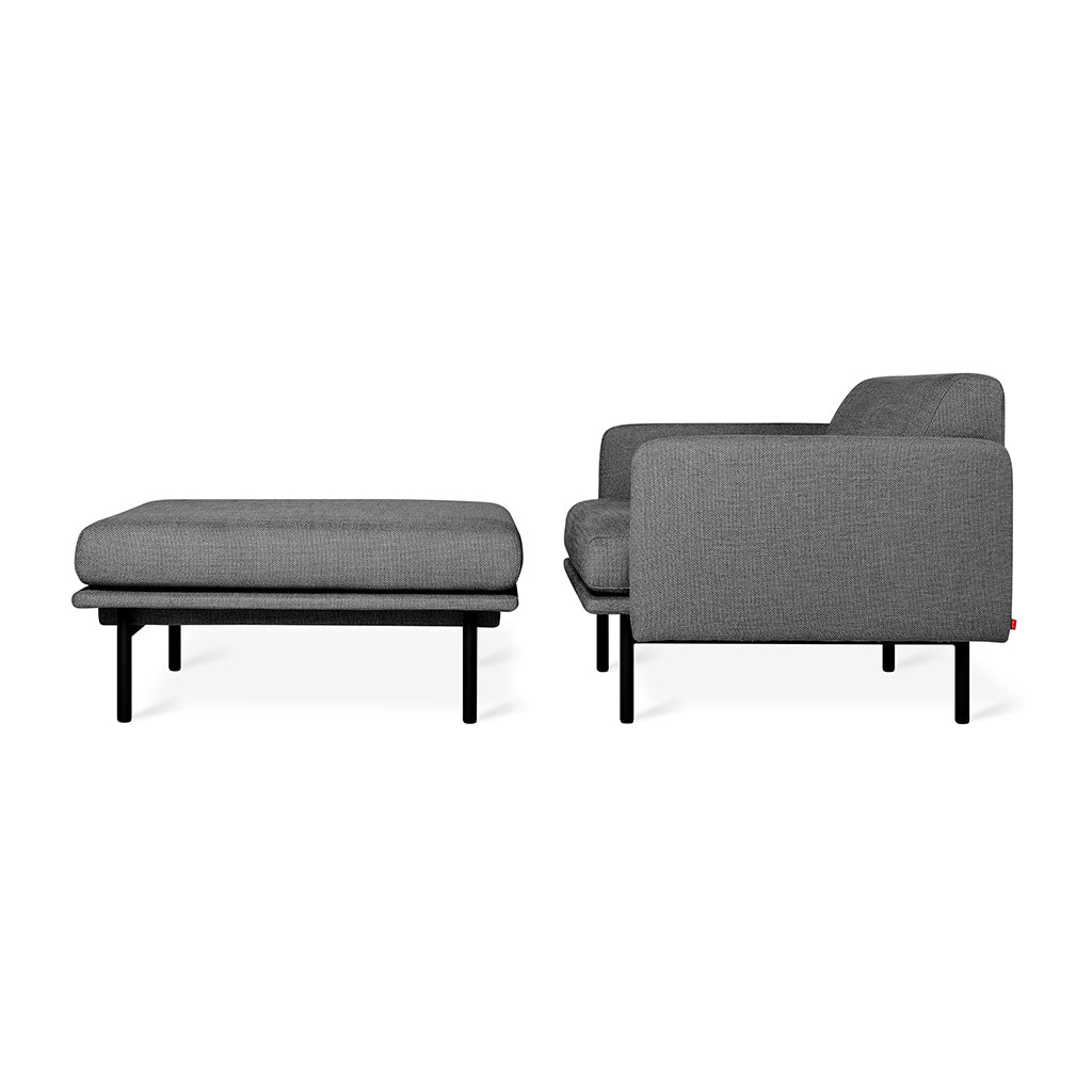 Foundry Chaise | Andorra Pewter