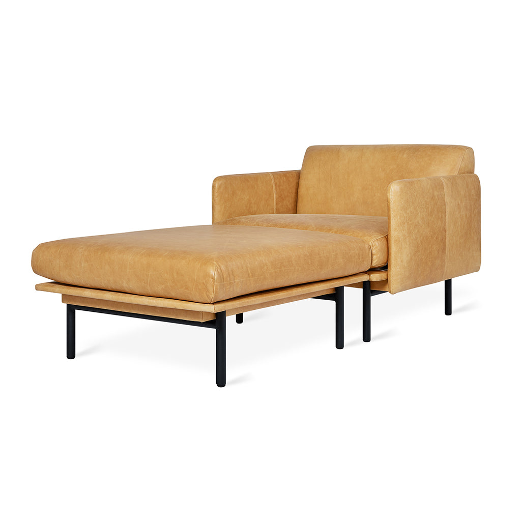 Foundry Chaise | Canyon Whiskey Leather