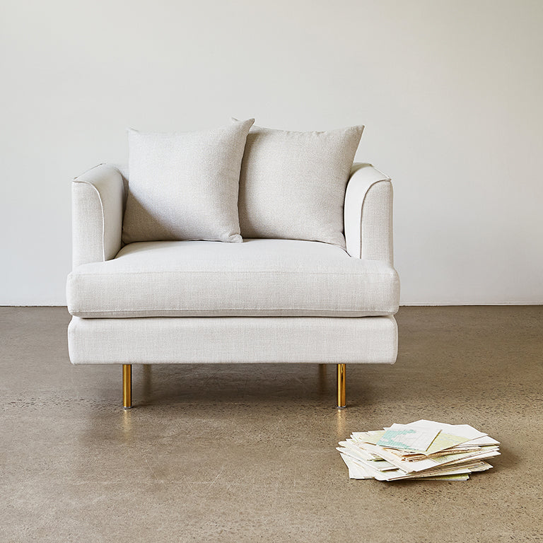 Margot Chair | Cambie Parchment