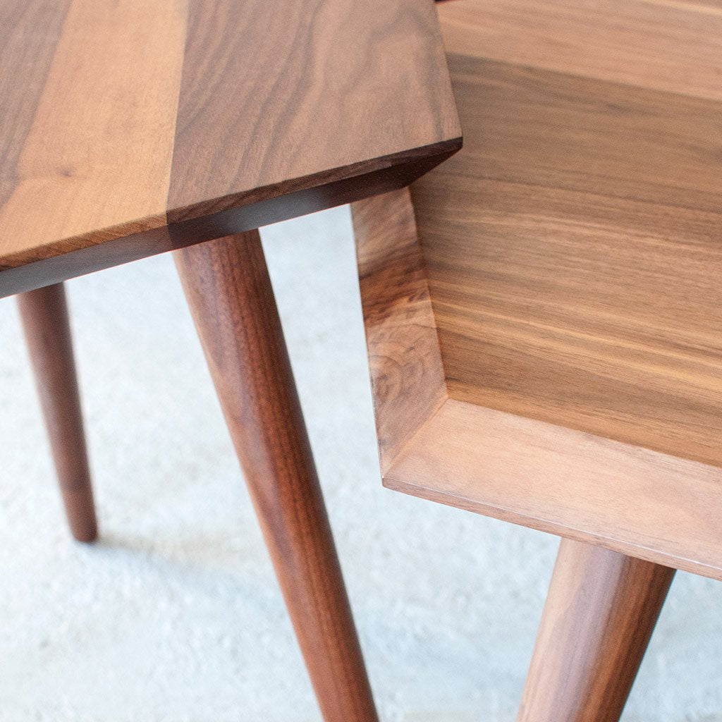 Metric Tables | Walnut