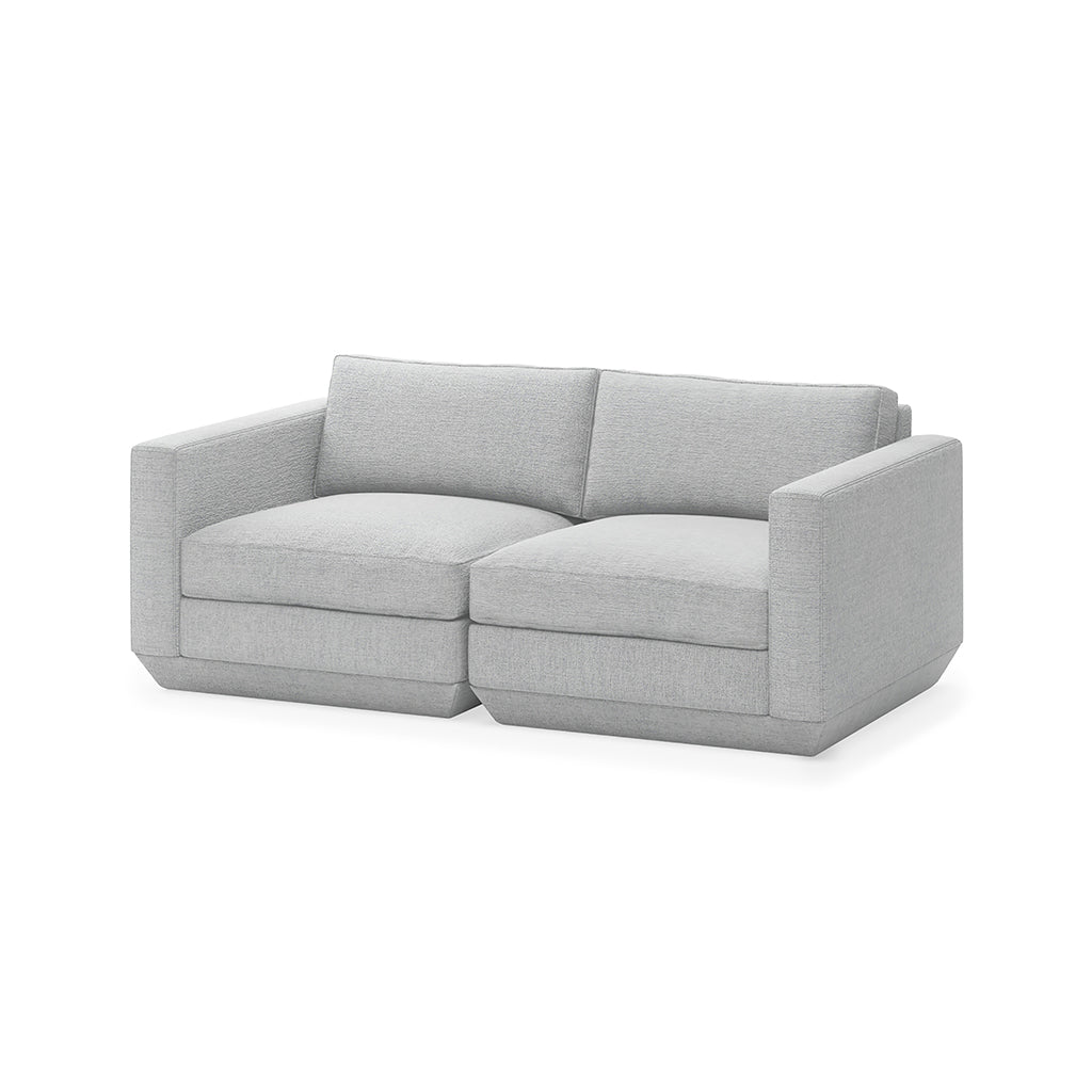 Podium 2PC Sofa | Bayview Silver