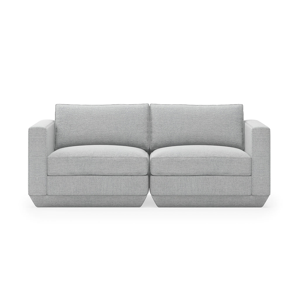 Podium 2PC Sofa and Bayview Silver