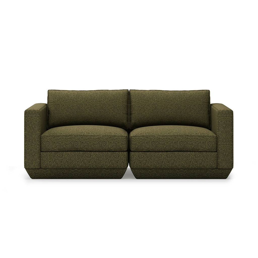 Podium 2PC Sofa | Copenhagen Terra