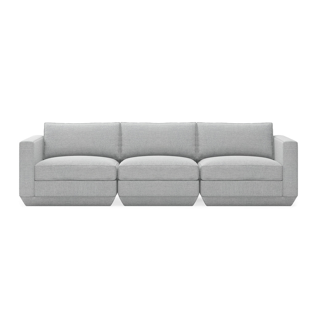 Podium 3PC Sofa and Bayview Silver