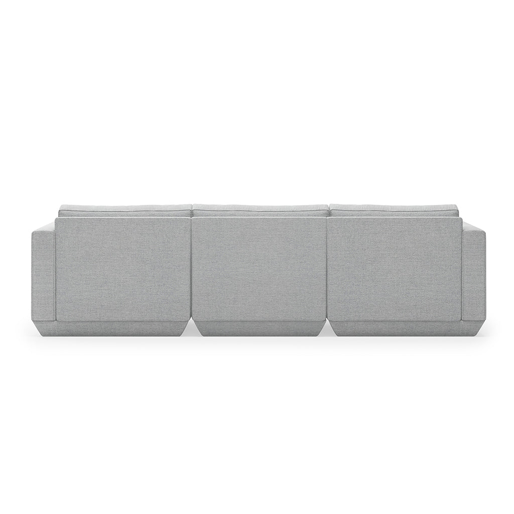 Podium 3PC Sofa | Bayview Silver