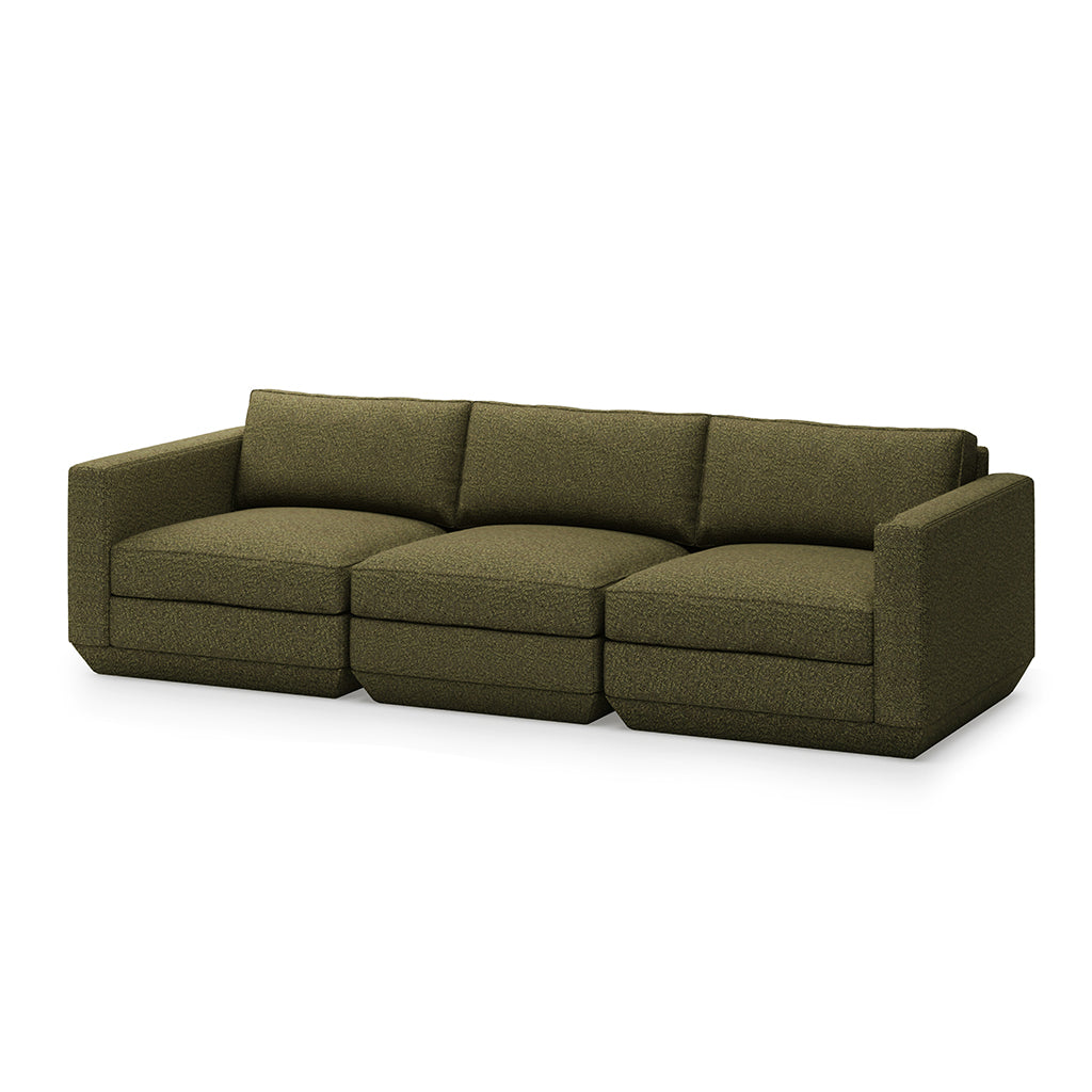 Podium 3PC Sofa | Copenhagen Terra