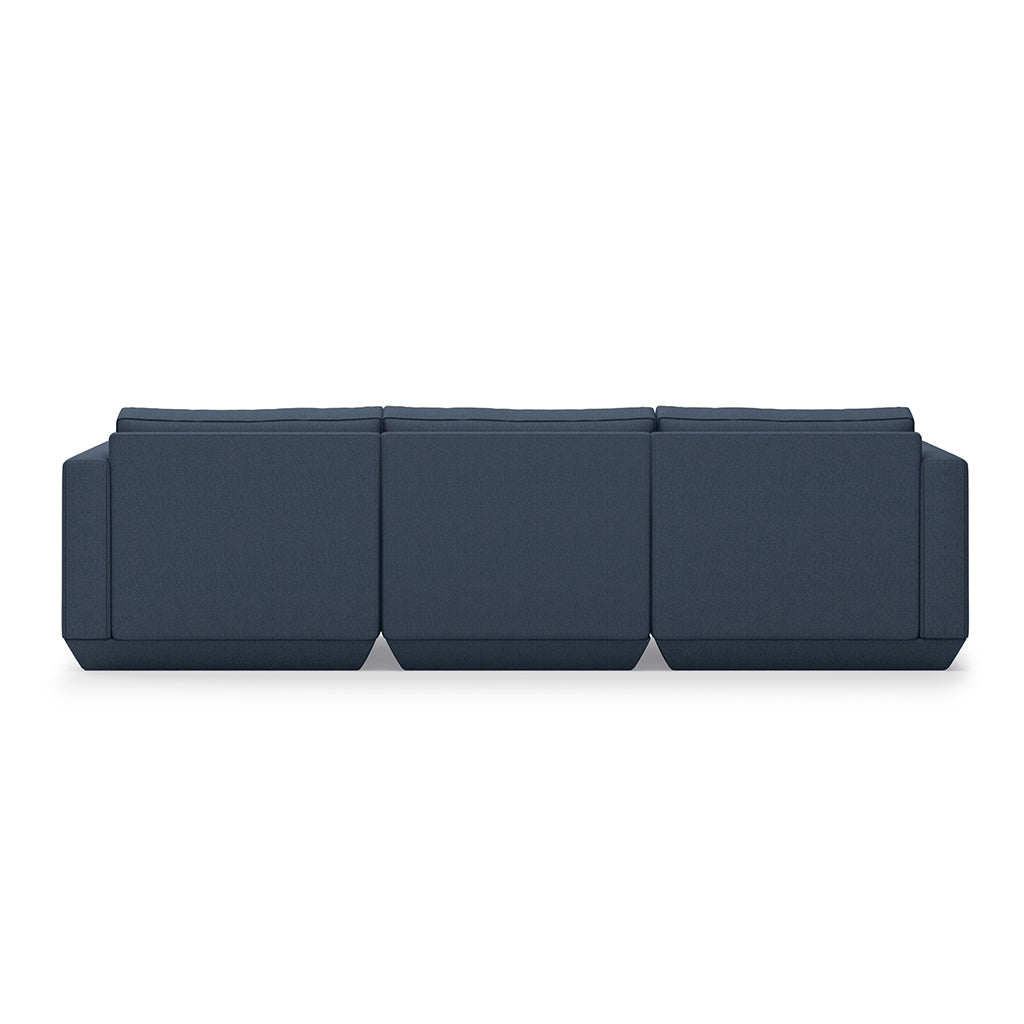 Podium 3PC Sofa | Hanson Navy