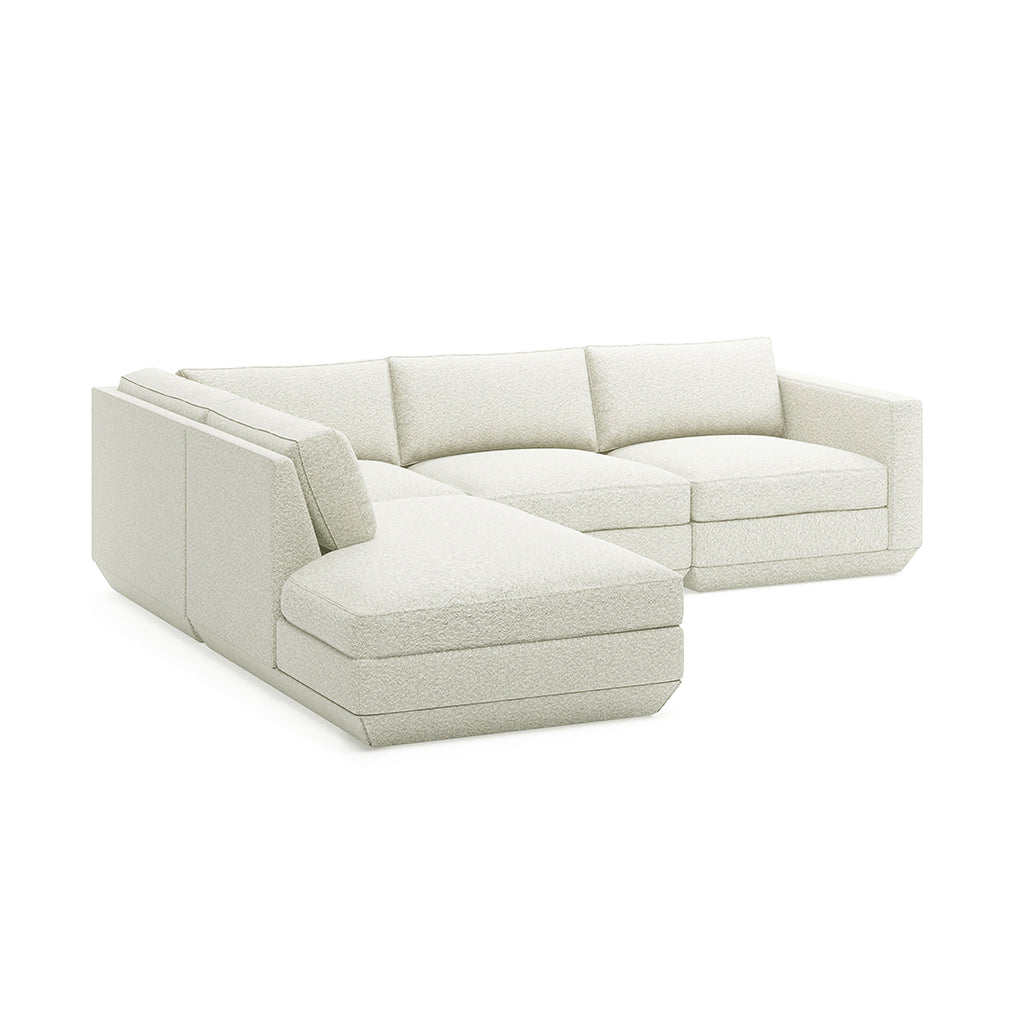 Podium 4PC Lounge Sectional A | Copenhagen Fossil