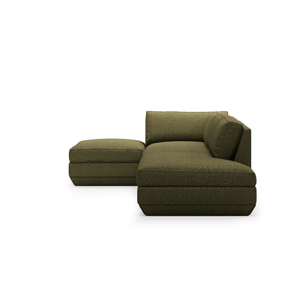 Podium 4PC Lounge Sectional B | Copenhagen Terra