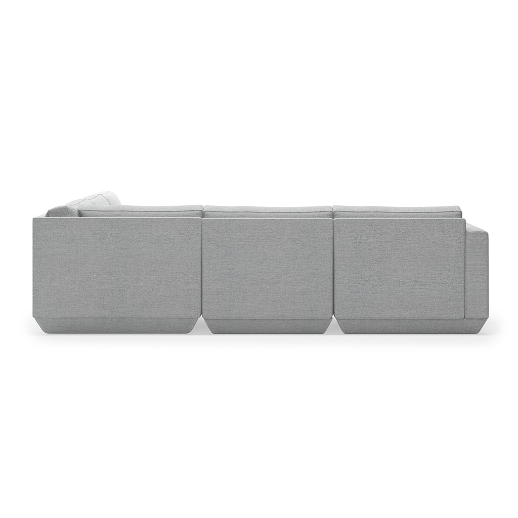 Podium 5PC Corner Sectional  | Bayview Silver