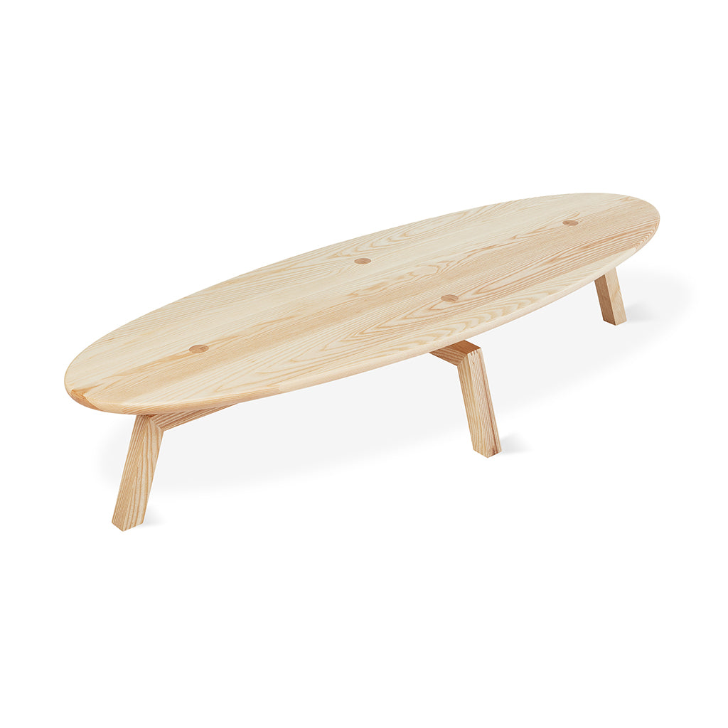 Solana Oval Coffee Table | Natural Ash