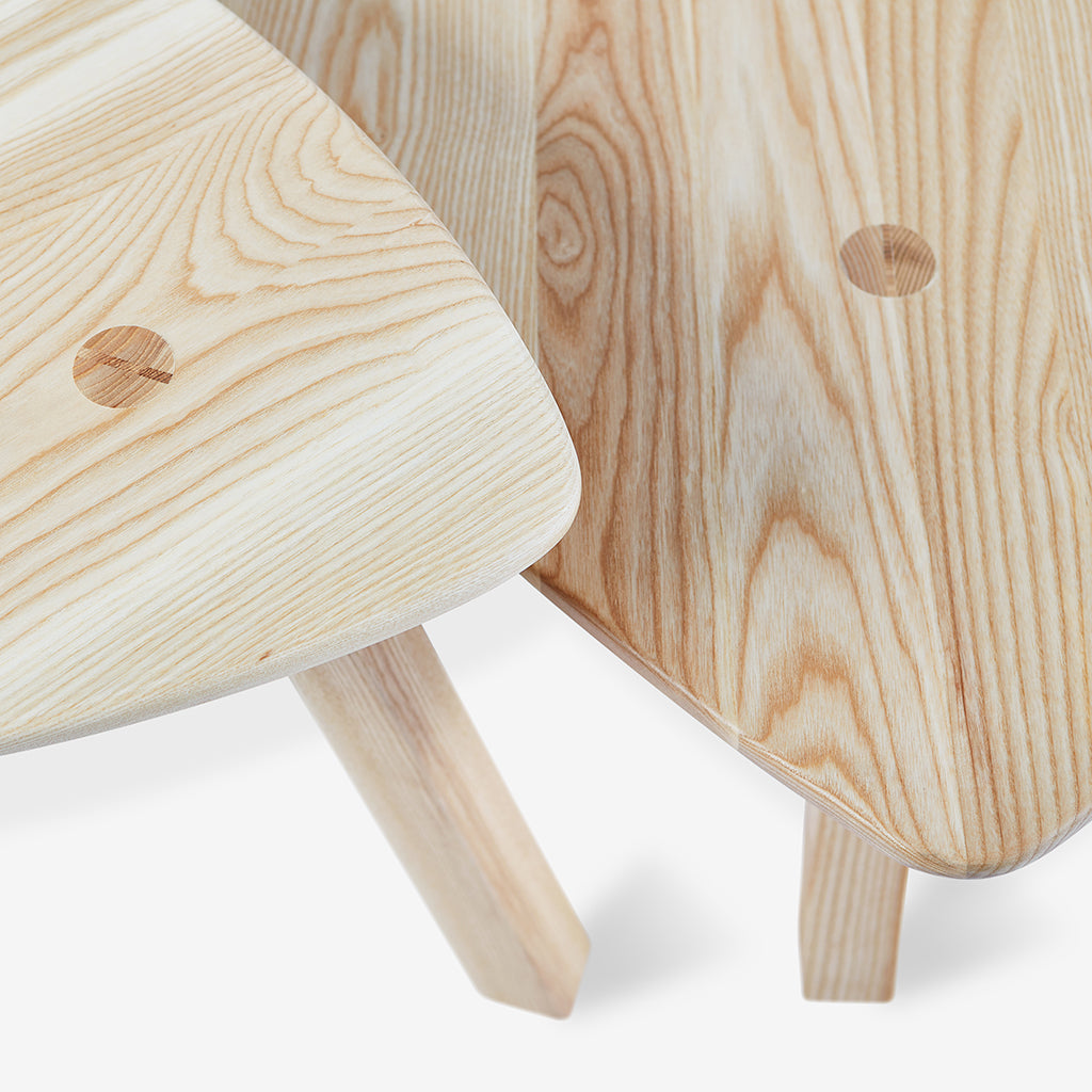 Solana Table Details | Natural Ash