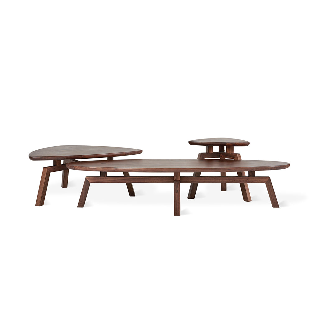 Solana Oval Coffee Table Group | Natural Ash
