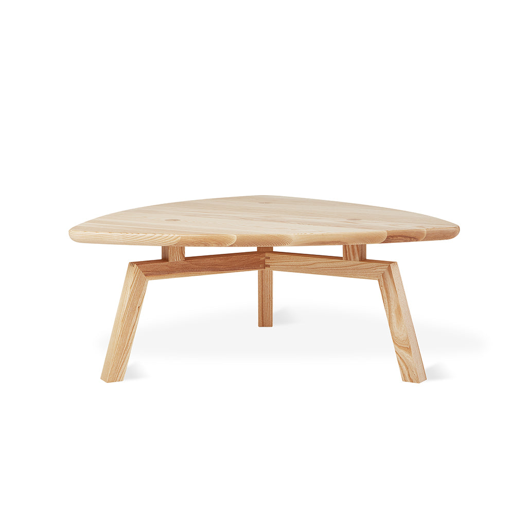 Solana Triangular Coffee Table | Natural Ash