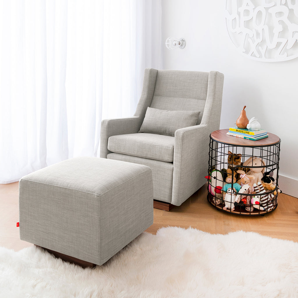 Sparrow Glider & Ottoman | Leaside Driftwood