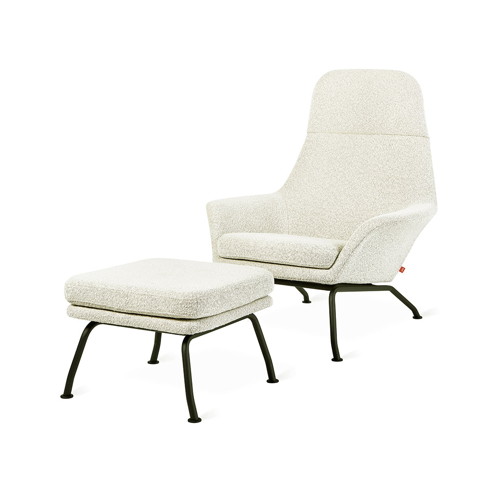 Tallinn Chair and Ottoman | Copenhagen Fossil