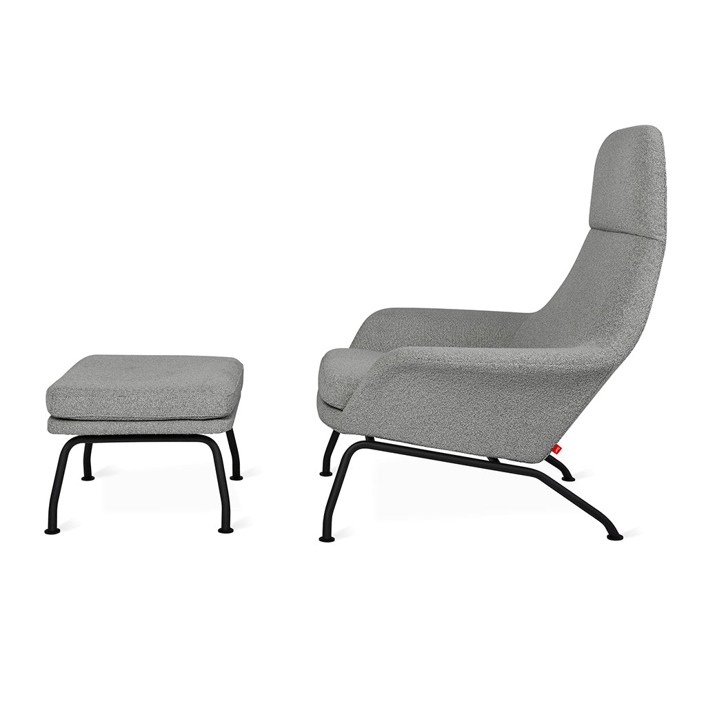 Tallinn Chair and Ottoman | Copenhagen Iron
