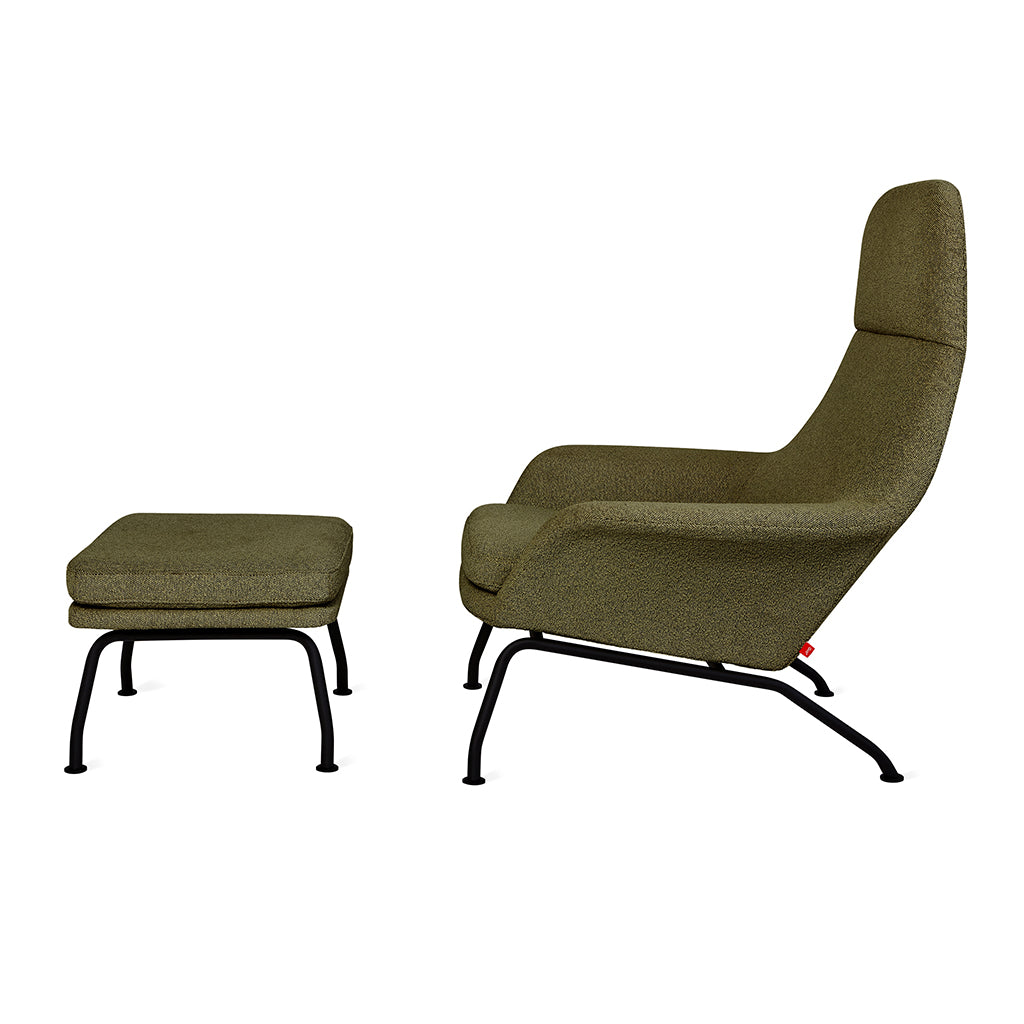 Tallinn Chair and Ottoman | Copenhagen Terra