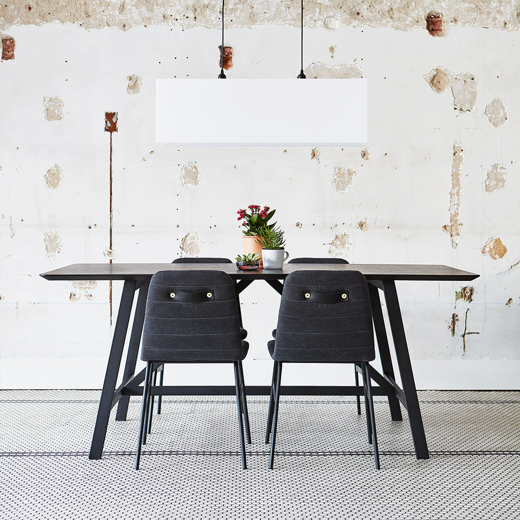 Wychwood Dining Table | Black Ash & Black