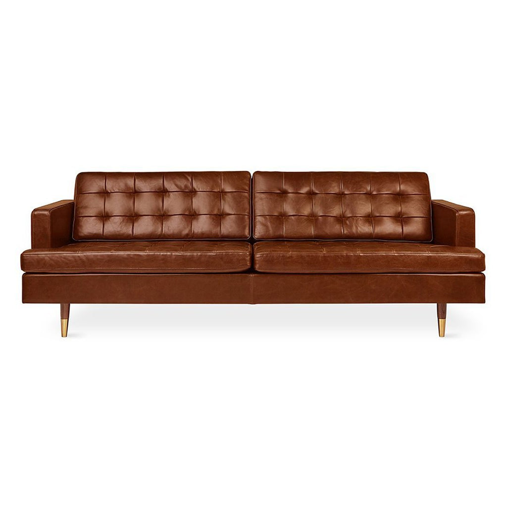 Archer Sofa | Saddle Brown Leather