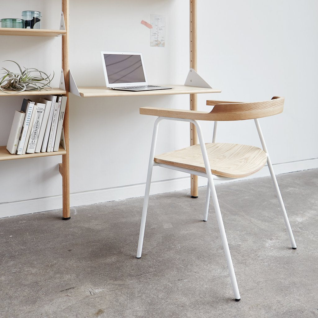 Branch-1 Shelving Unit with Desk