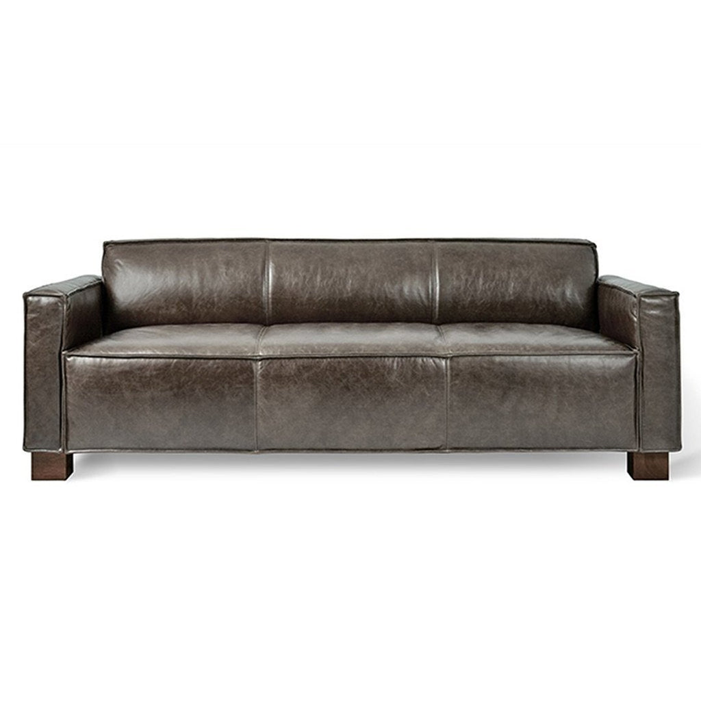 Cabot Sofa | Saddle Grey Leather