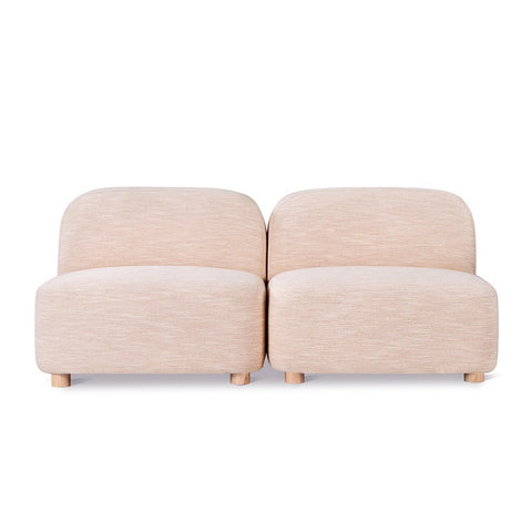 Circuit Modular 2-pc Armless Sofa