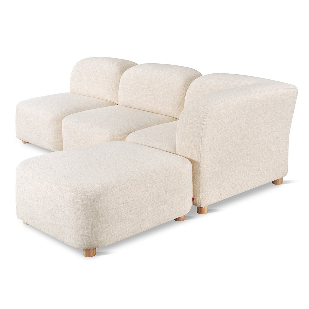 Circuit 4-pc Sectional | Huron Ivory