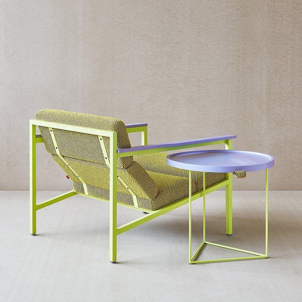 Gus* x LUUM Halifax Chair | Violet Pop Chatoyant