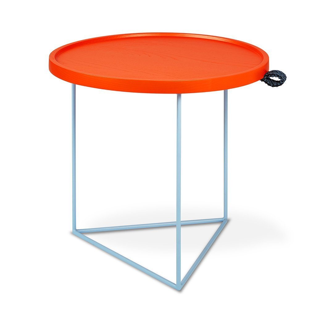 Gus x LUUM Porter End Table | Orange Pop Module