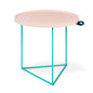 Gus* x LUUM Porter End Table | Pink Pop Hematite