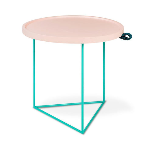 Gus* x LUUM Porter End Table - Hematite