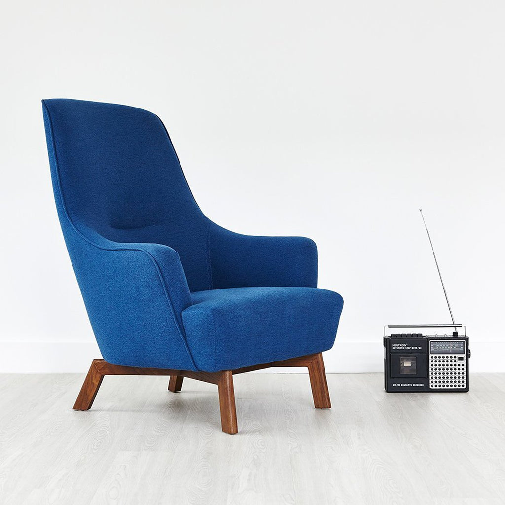 Hilary Chair | Stockholm Cobalt