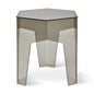 Hive End Table | Smoke Acrylic