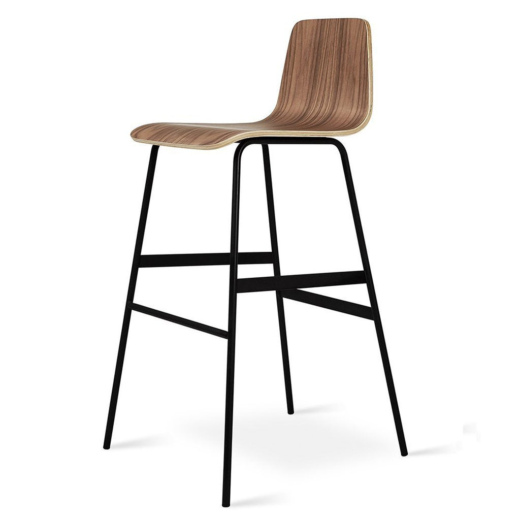 Lecture Bar Stool | Walnut
