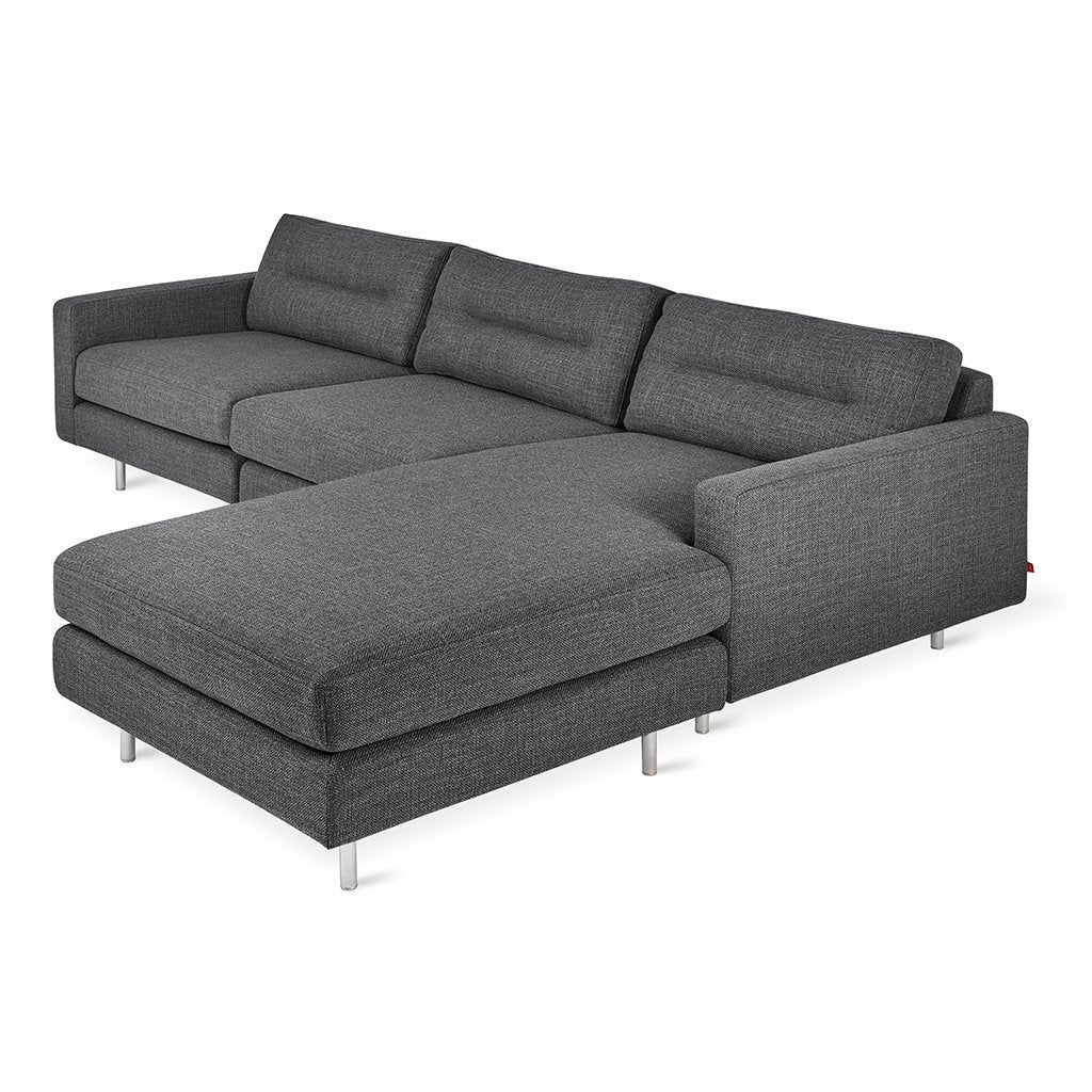 Logan Bi-Sectional | Andorra Pewter