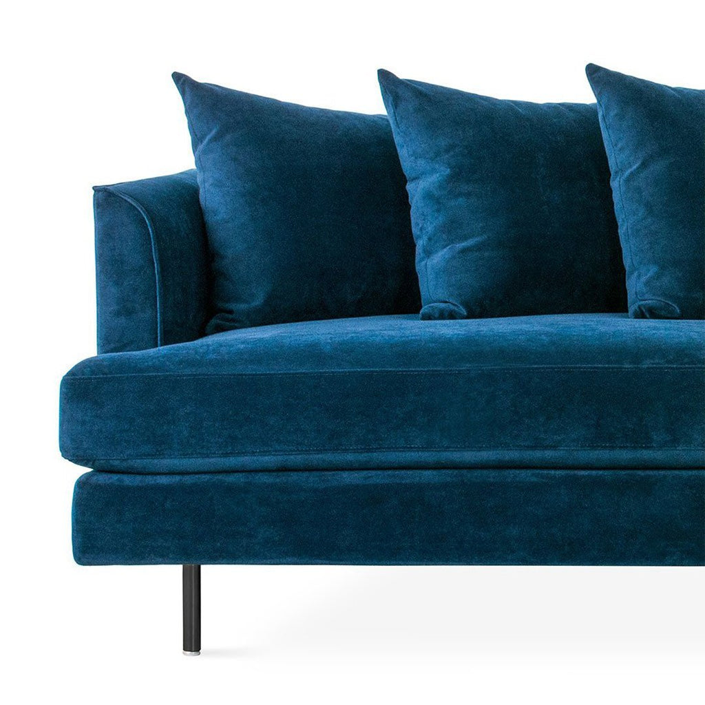 Margot Sofa | Velvet Midnight