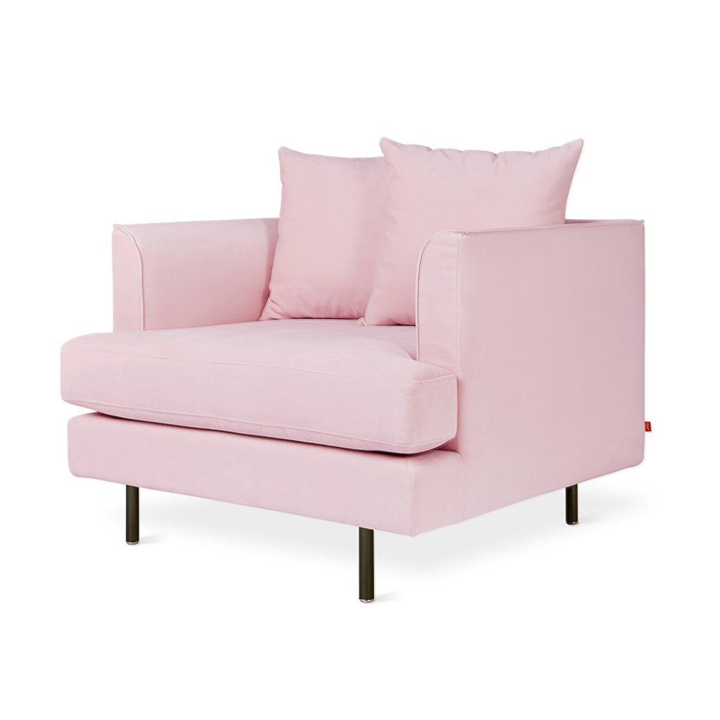 Margot Chair | Velvet Blush