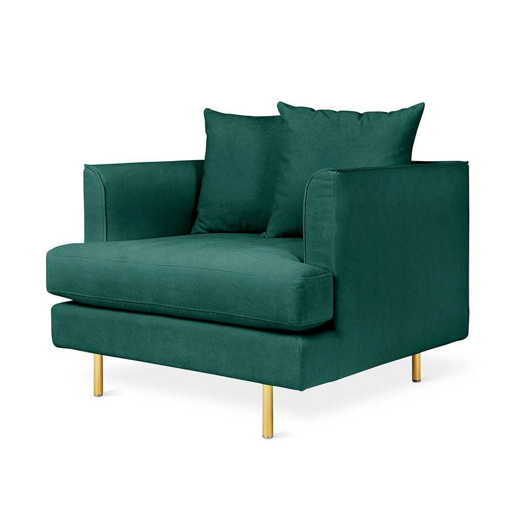 Margot Chair | Velvet Spruce