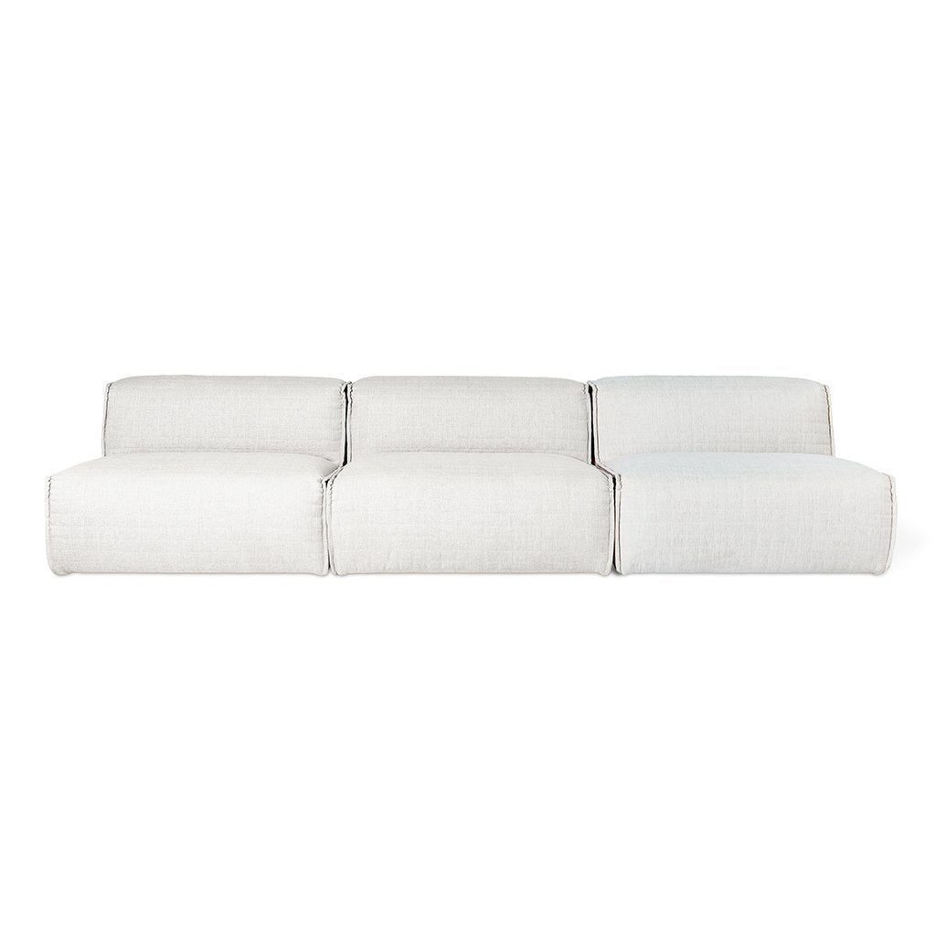 Nexus Modular 3PC Sofa | Thea Moonstone