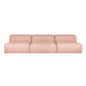 Nexus Modular 3PC Sofa | Thea Seasalt