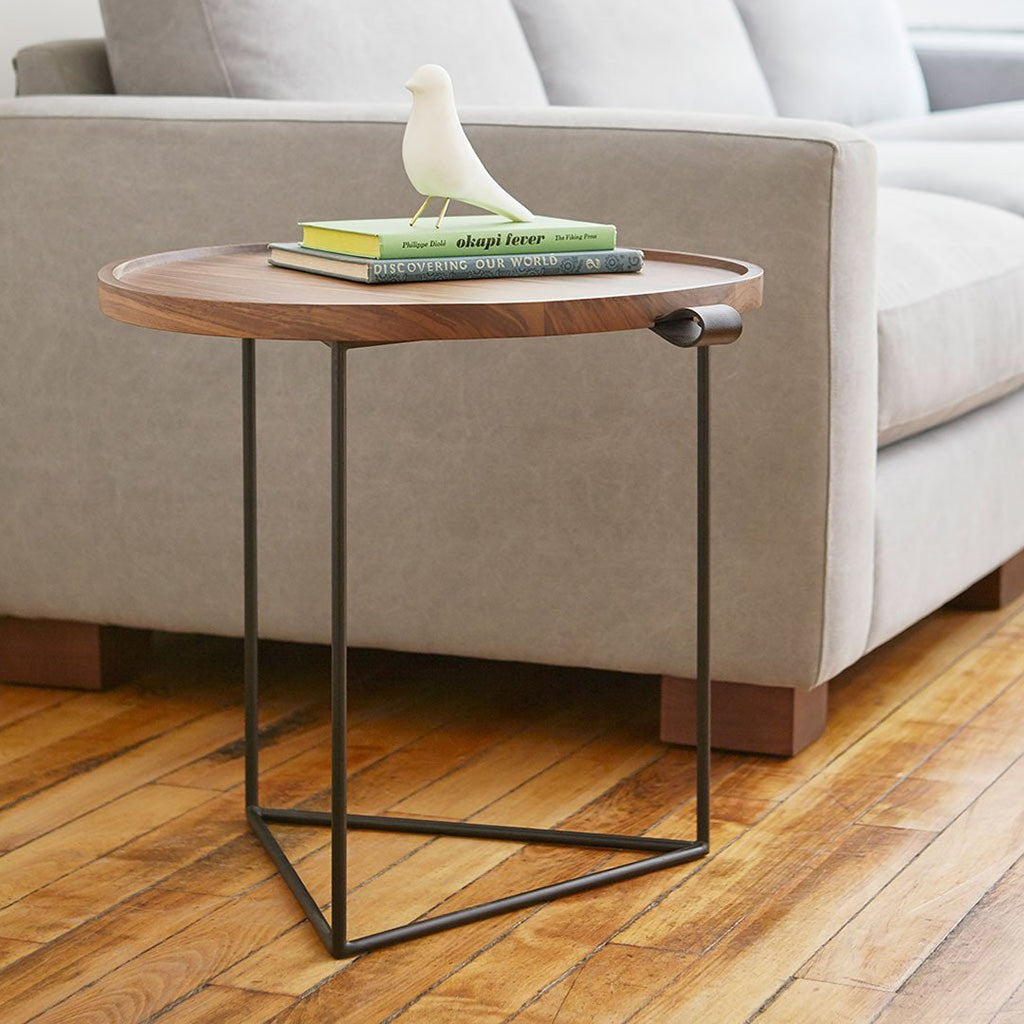 Porter Round Coffee Table: Porter End Table