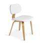 Thompson Chair | Natural Oak & Vinyl Snow