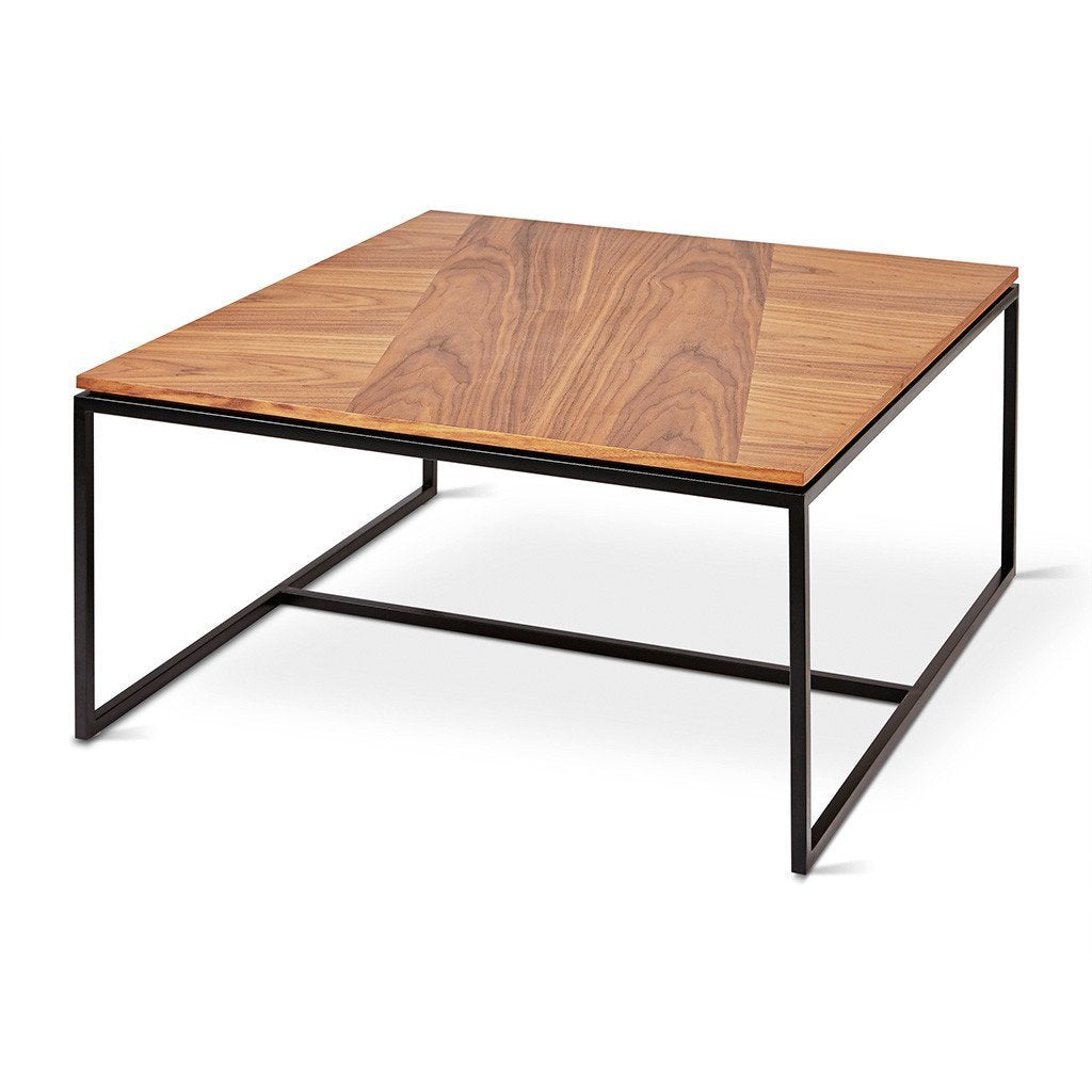 Tobias Coffee Table - Square | Walnut