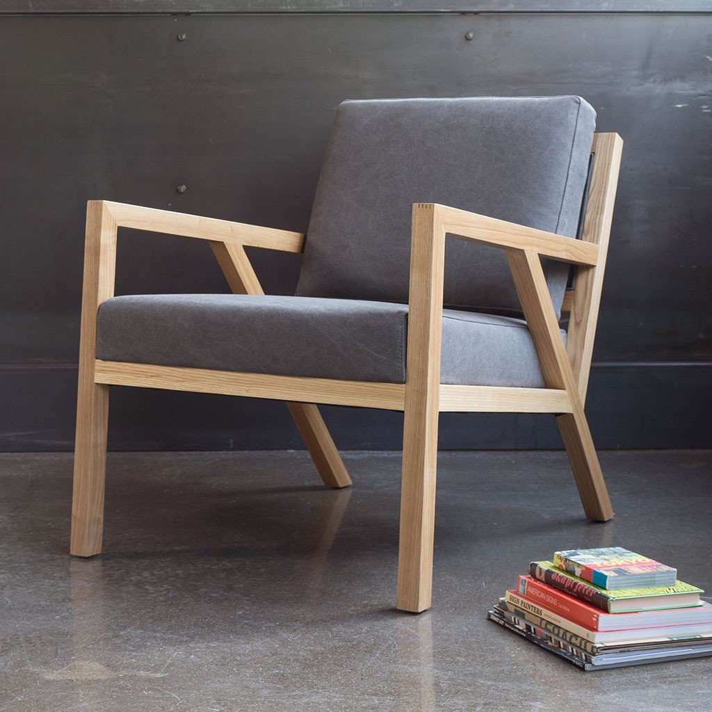 Truss Chair | Vintage Smoke