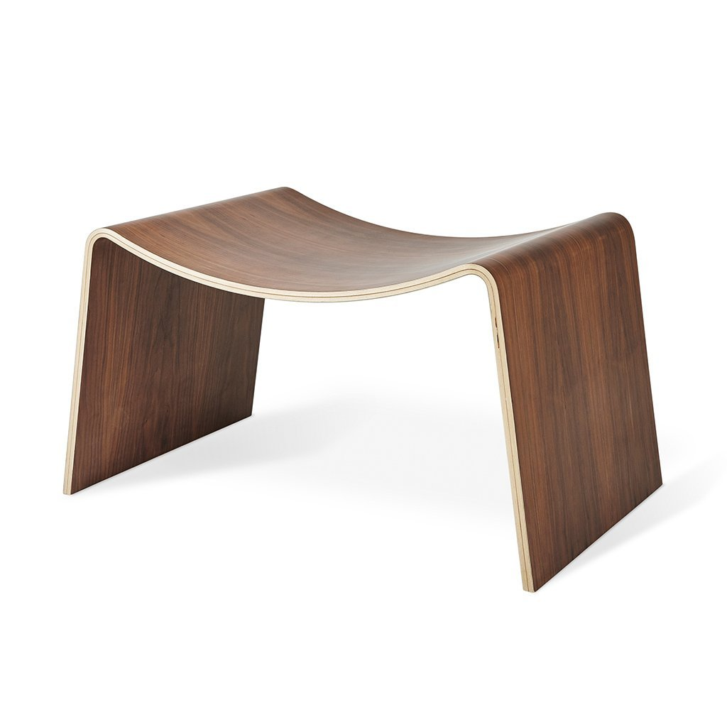 Wave Stool | Walnut